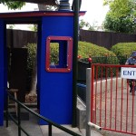 Amusement Park Control Station Made with King ColorBoard® KPG Blue and KPG Red