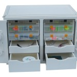 Tackle Storage Unit with Removable Cutting Board Made with King StarBoard® White/White