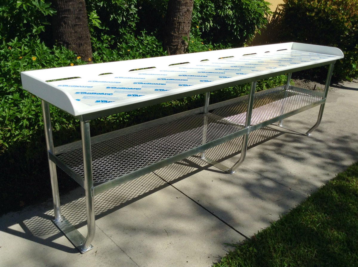 Testimonials king plastic corporation for Homemade fish cleaning table