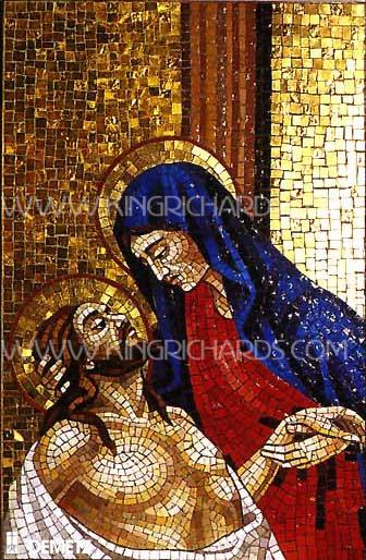 New Mosaic Stations Of The Cross Set Of Stations Of The