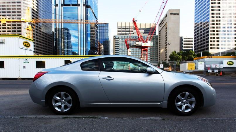 Nissan Altima Coupe Cityscape