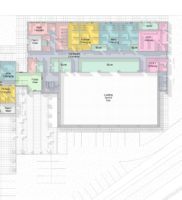 3469-XXXX-AAR-P1-ZZ-M3-A-SportsHall-WS-2016_m – Floor Plan – 00 – Ground Floor Space – Presentation Plan