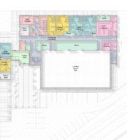 3469-XXXX-AAR-P1-ZZ-M3-A-SportsHall-WS-2016_m – Floor Plan – 00 – Ground Floor Space – Presentation Plan