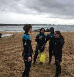 Beach – girls – July