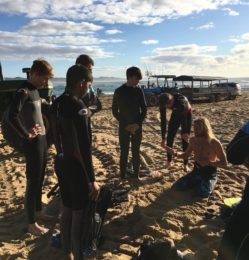 Beach – group – July