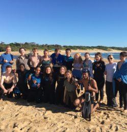 Beach – group photo – July 2018