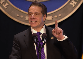 Gov. Andrew Cuomo delivers his 2018 State of the State speech today in Albany.  Photo from Cuomo's office