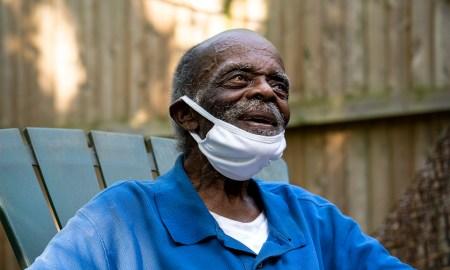 A World War II veteran Mr. James A. Been who's turning a centenarian on July 19th. (Photo by Tsubasa Berg)