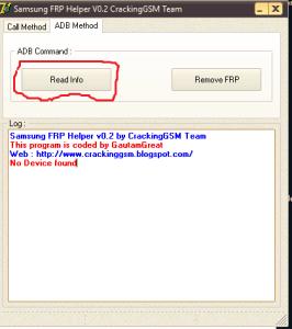 Samsung FRP Helper V0.2