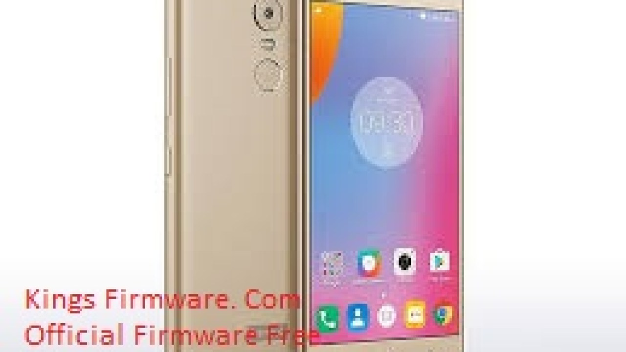 Lenovo K53A48 Flash File | Lenovo K6 Note Flash File