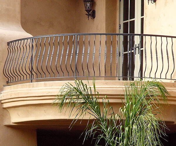 Iron Balcony Stair Railings Temecula Ca Interior Exterior | Wrought Iron Railing Interior | Building Iron | Stair | Gallery | Victorian | Outdoor