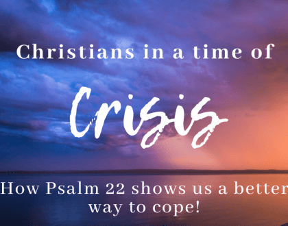 Christians in a Time of Crisis