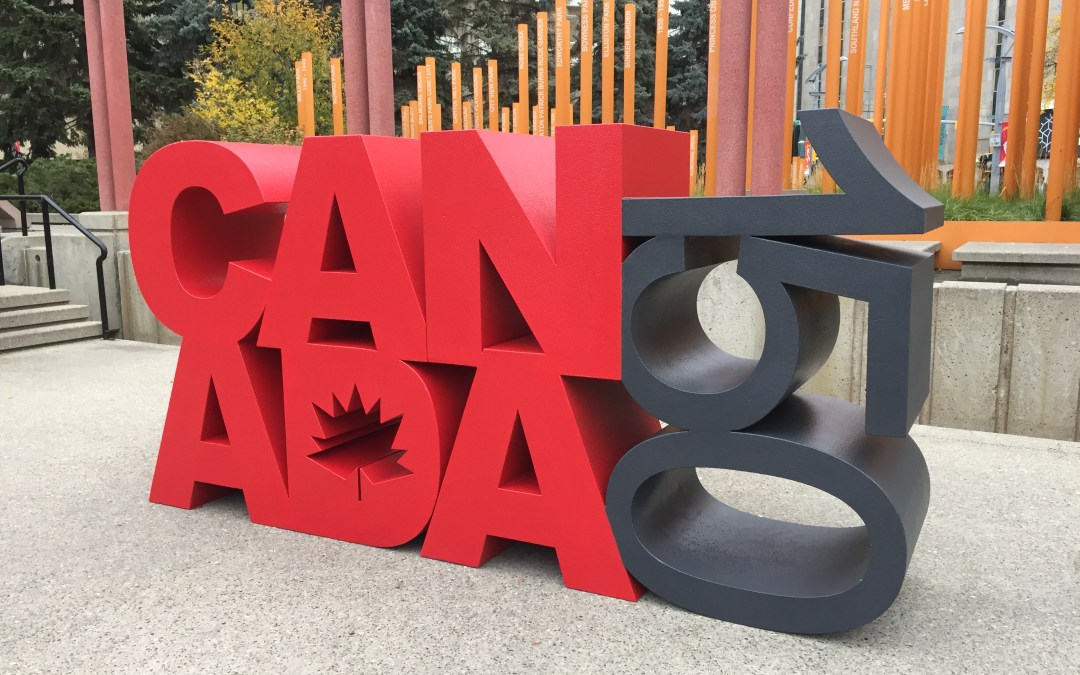 Canada 150 Sculpture