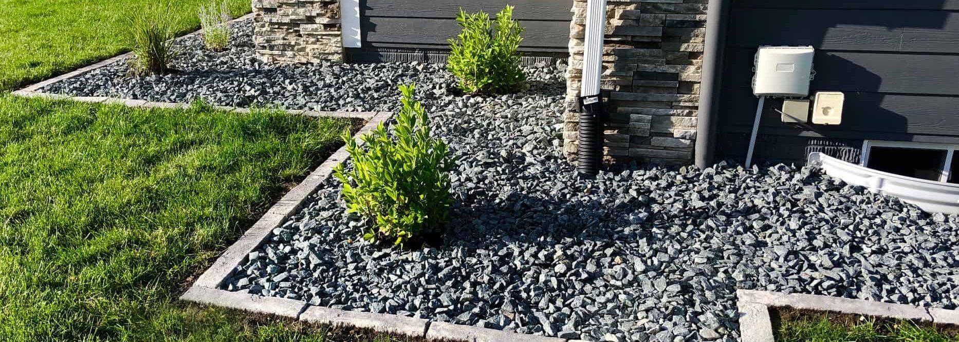 landscaping edging in Rosetta Bordo
