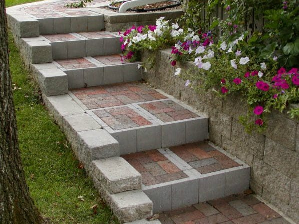 Steps and Pavers