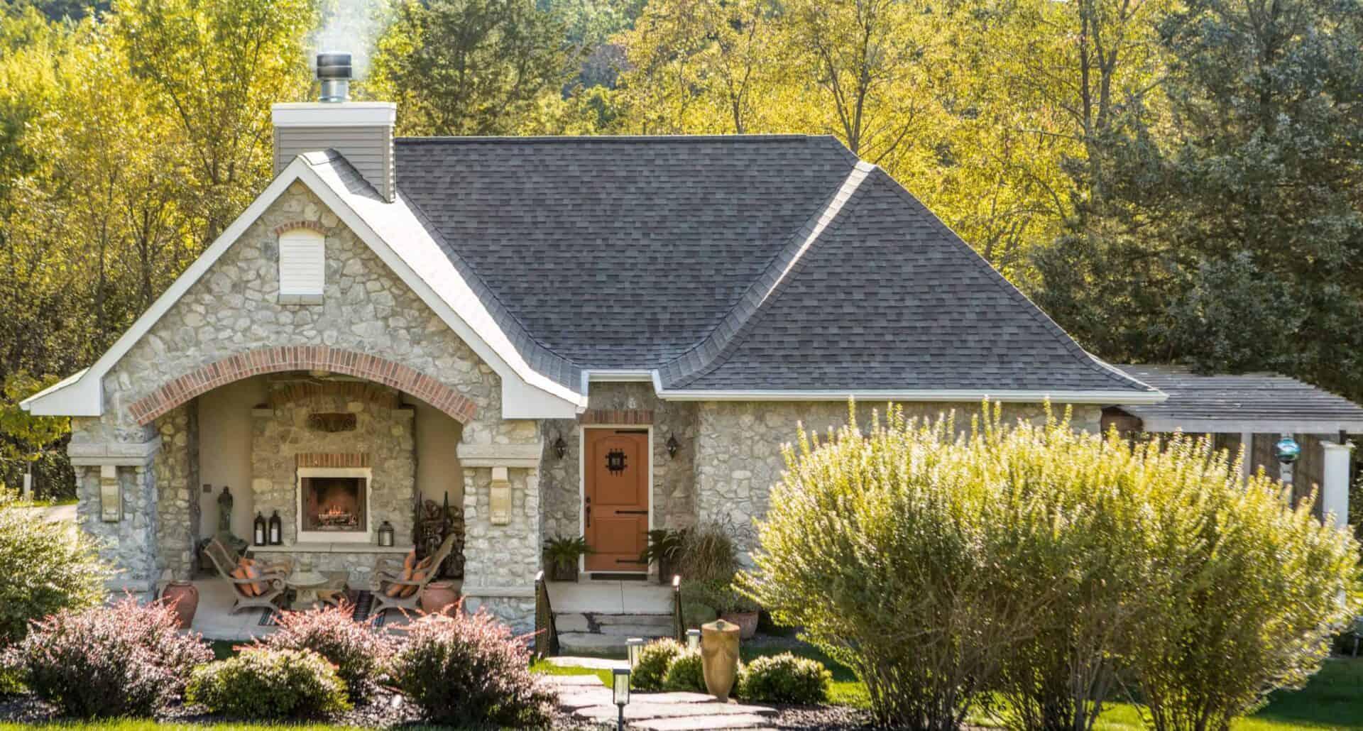 King's Concrete Masonry Home Landscape