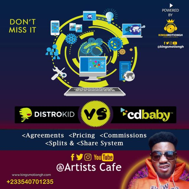 Distrokid vs. CD Baby (Digital Music Distributors). How to get your songs on the digital music streaming platforms. All you need to know about Distrokid mode of operation and Cd Baby requirements.