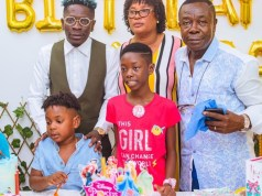 Shatta Wale celebrates his daughters birthday (See Photos)