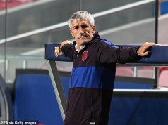 Barcelona have decided their coach