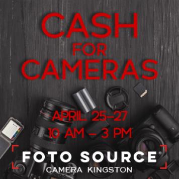 Cash for Cameras