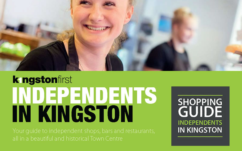 Independent shops, restaurants and hotels in Kingston