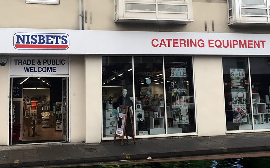 Nisbet kitchen and catering supplies