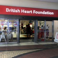 The British Heart Foundation Home and Fashion Store in Kingston