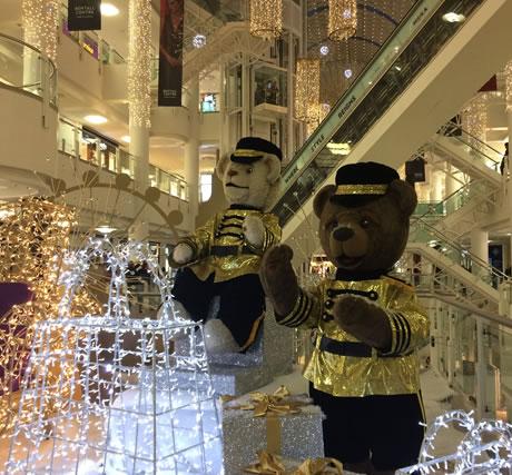 Bentalls Christmas Bears