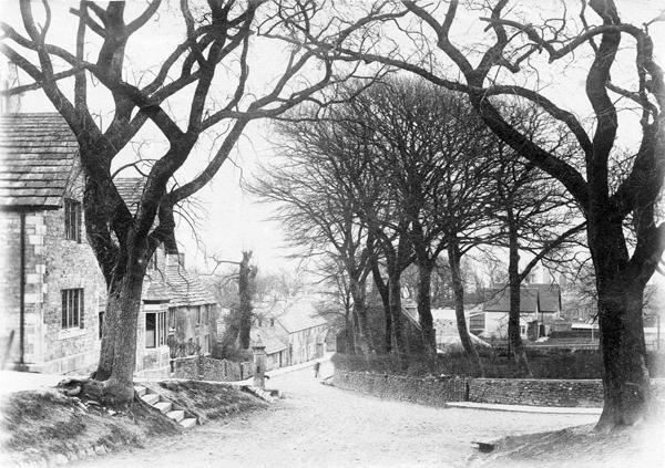 village and pump c1939