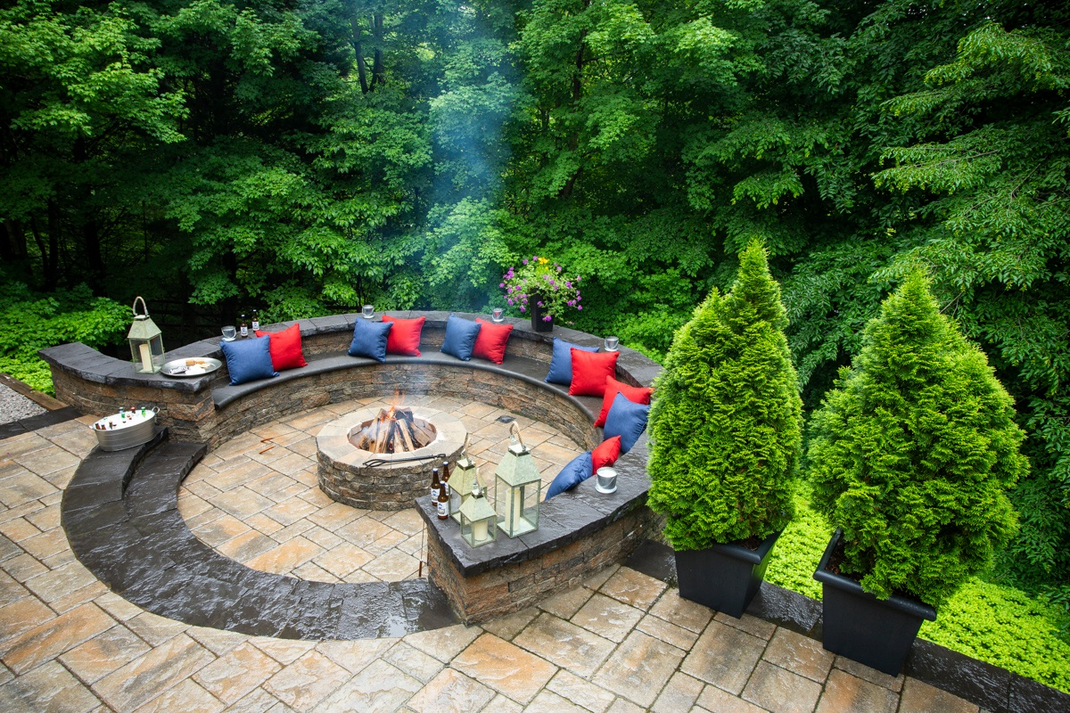 How Much Does a Patio Cost? What to Expect in Alexandria ... on Backyard Patio Cost id=23468