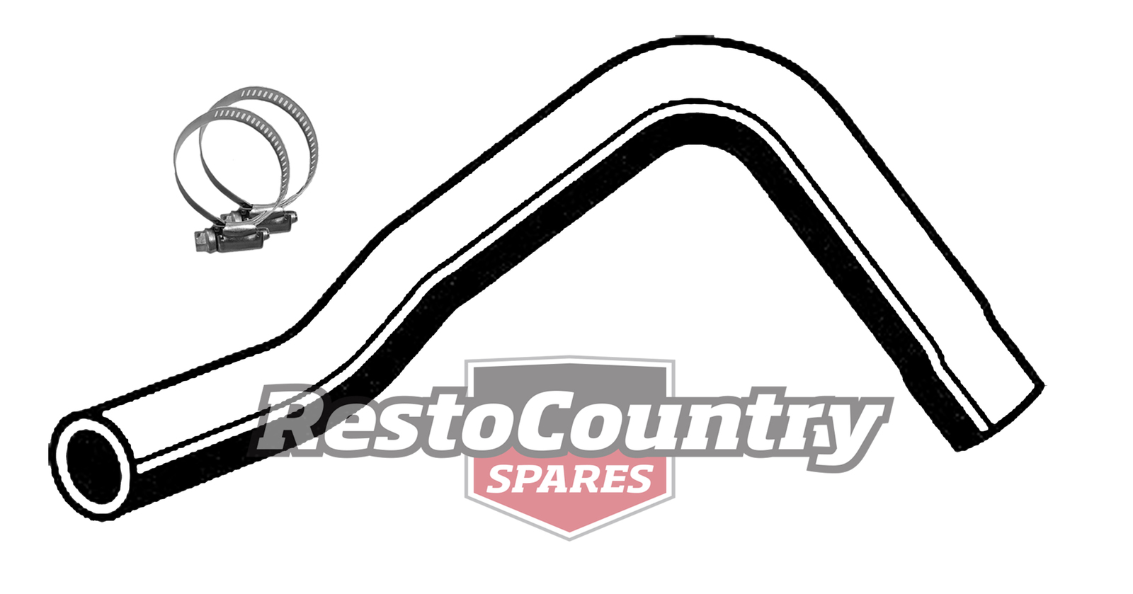 Ford Service Lower Radiator Hose Clamps Xd Xe V8 302 351