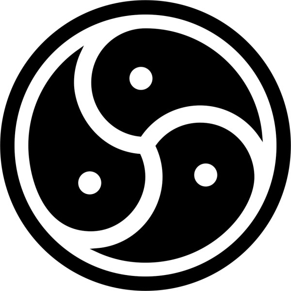 BDSM Triskelion Vinyl Decal