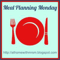 Meal plan Monday – 28/4/14 #2