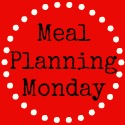 Meal planning Monday w/c 19th May #5