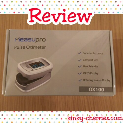 MeasuPro OX100 Instant Read Pulse Oximeter Review