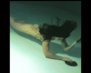 anime bondage underwater