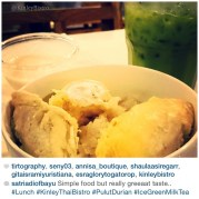"""""""Simple food but really great taste..."""" Exactly what Kinley stands for... Simple food Simply Delicious ✌️ Thank you @satriadiofbayu for sharing our food and kind review"""