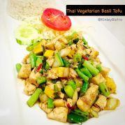 Thai Vegetarian basil-tofu