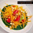 thai vegetarian carrot-salad