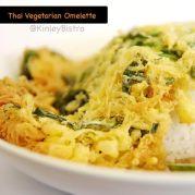 thai vegetarian omellete