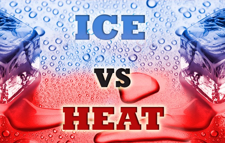 heat vs ice