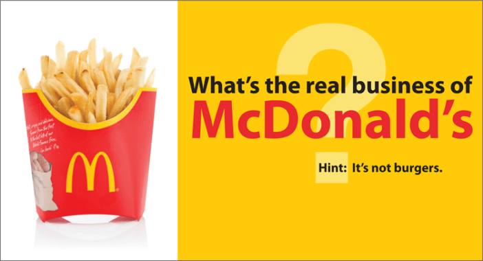The Real Business of McDonald's- Kinney Brothers Publishing