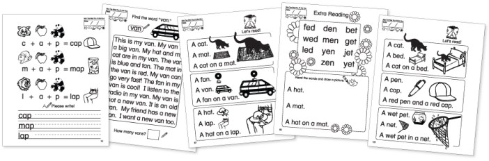 CVC Worksheets Kinney Brothers Publishing