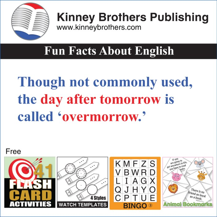 Fun Facts About English 18 Kinney Brothers Publishing
