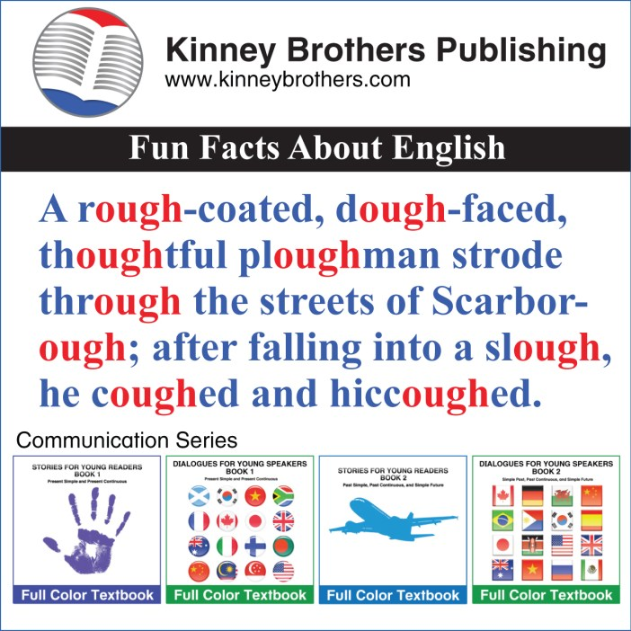 Fun Facts About English 42 Kinney Brothers Publishing
