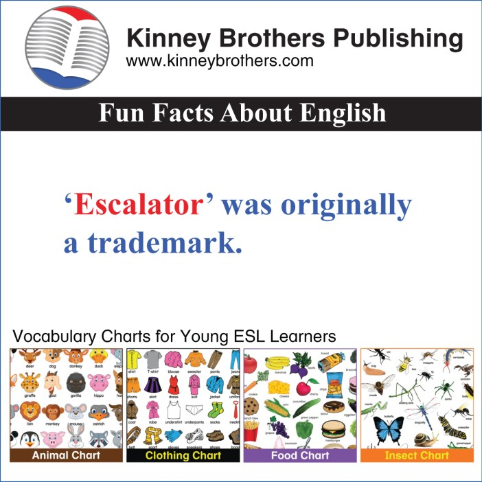 Fun Facts About English 54 Kinney Brothers Publishing