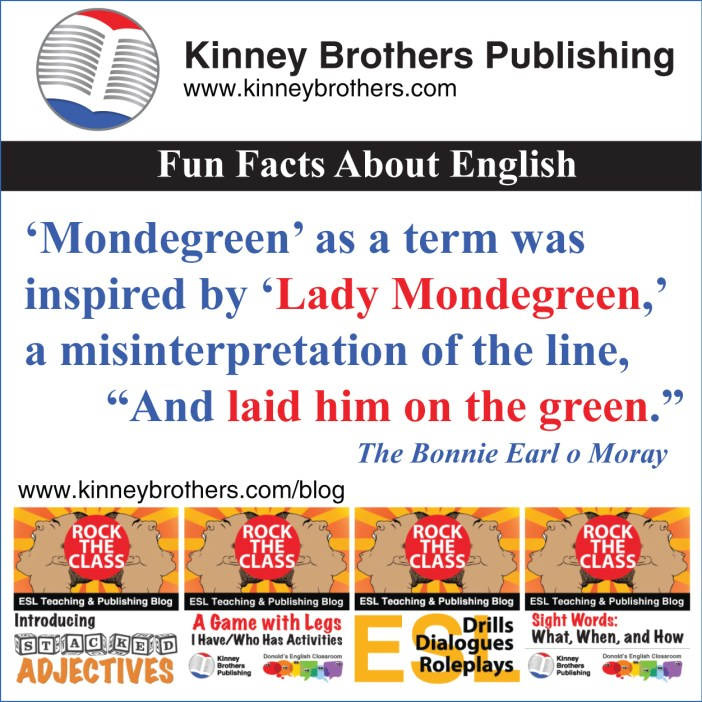 Fun Facts About English 56 Kinney Brothers Publishing