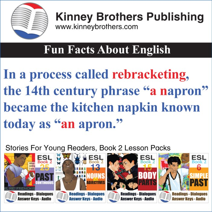 Fun Facts About English 60 Kinney Brothers Publishing