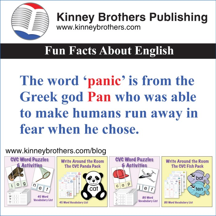 Fun Facts About English 67 Kinney Brothers Publishing