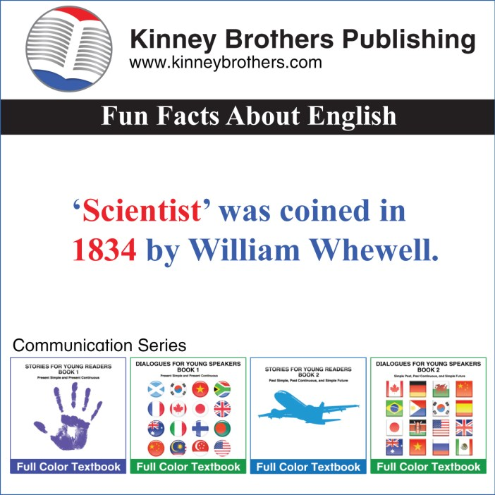 Kinney Brothers Publishing scientist